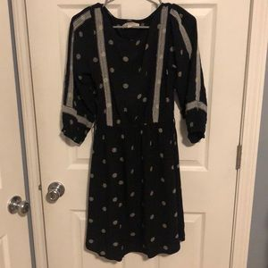 Quarter Length Sleeve, Loft Dress XS
